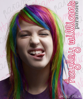Hayley Williams Rainbow 2 by jagged-pulse