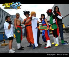 Z Warriors of Dragonball Z by jeffbedash325