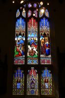 Stained Glass, Edinburgh by bobswin