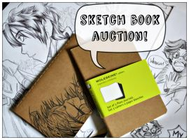 Custom Sketch Book Auction! - Last Day! by tea-bug