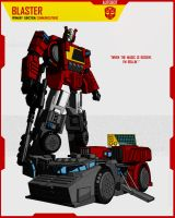CYBERTRONIAN BLASTER by F-for-feasant-design