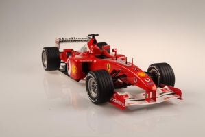 Ferrari F2002 F1  hand made by osiskars