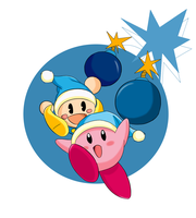 Kirby n Poppy by do-it-yourself