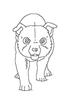 Ginga Lineart free makeble 7 by MoonString