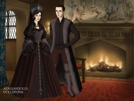 Bellatrix and Tom Riddle by lag111