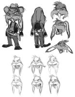 Bad Rabbit-modelsheet by MissKeith