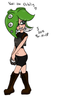 Yoshi The Octoling by Tibby-san