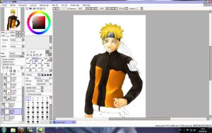 WIP Naruto by Aydalen