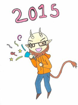 1/11/15 - New Year by FezNInk