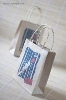 Chado tea shop bags by Dferous