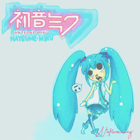 Miku Hatsune by MachoPie