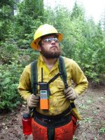 Wildland Firefighter by Junthor