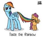 Taste The Rainbow by SleepyHeadKL