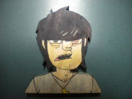 Murdoc Game Of Death- wood by 23-hour-party-people