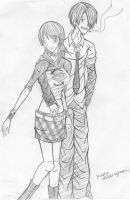 Out On The Town -Sanji n Nami- by Dreamwish