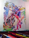 Shiro - No game No life by IcaroLQ