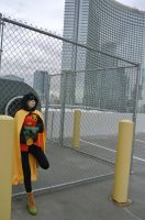 Damian Wayne: Cage Fight by kay-sama