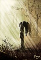 Angel of the Sundown by 00Maria00