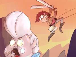 Attack On Gideon by Spanish-Scoot