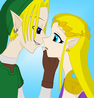 About To Kiss. by medli96