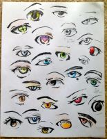 Eyes sheet 1 by Vexcel