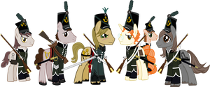 Sharpe's Chosen Ponies by Vector-Brony
