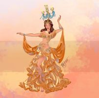 Disney Belly Dancers: Raqs Shamadan by Blatterbury