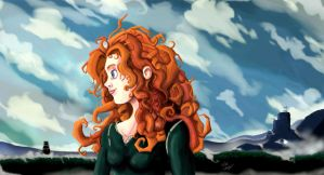 Merida by Pinkshisno