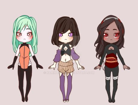 Adoptables #30 -Closed- by KamikaChan