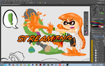 Inkling comic - sleeping, will finish offline by Fundz64