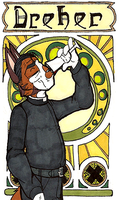 Art Nouveau Badges: Emanuel Dreher by Geistlicher