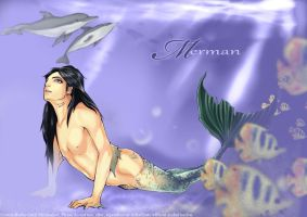 Merman by aquaxningyo