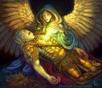 Angel of Mercy for Talisman by feliciacano