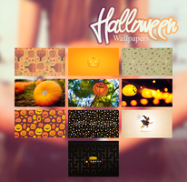 Halloween Wallpapers || Clari by RadiantDay