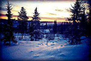 Happy Christmas from Norway by Ecker00