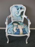 Loveless Bird Antique Chair by camilladerrico