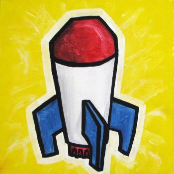 Rocket by alispagnola