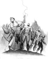 Avengers Movie Pencil Comp by Habjan81