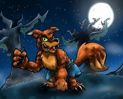 A Wild Werelupe Appears! by MyFantasyZone