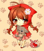Chibi Little Red Riding Hood  by Ross-86
