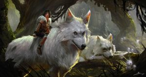 Princess Mononoke by Ron-faure