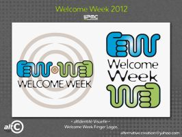 Welcome Week Finger by ANOZER