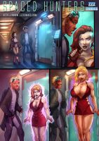 Spaced Hunters Preview 2 by zzzcomics