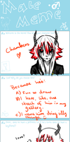 Male OC meme, feat. Chambers by Maerc-Eci