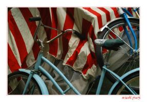 Bicycles by myrnajacobs