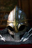 Viking Helmet by bakabobo