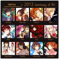 2013 Art Summary by ageha1sBf