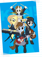 K-ON! Brony edition by SadlyLover