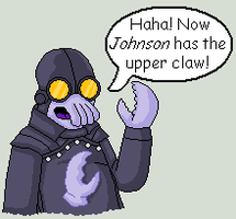 Dr. Johnson - Lobster Zoidberg by Azes13