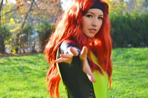 Jean Grey from  X-men Evolution by SakuraCherry7